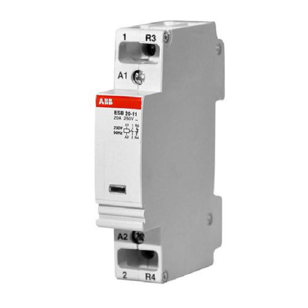 Модульный контактор АВВ ESB 20-11 230V 50Hz / 264V 60Hz