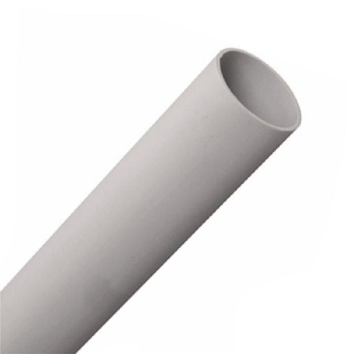 Труба гладкая жесткая ПВХ 63 мм (отрезок 3м)