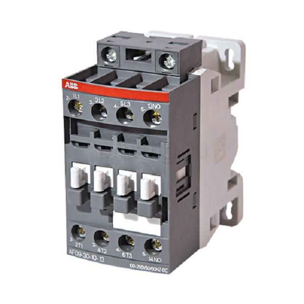 Контактор АВВ АF09-30-10-13 9А 100-220В AC/DC