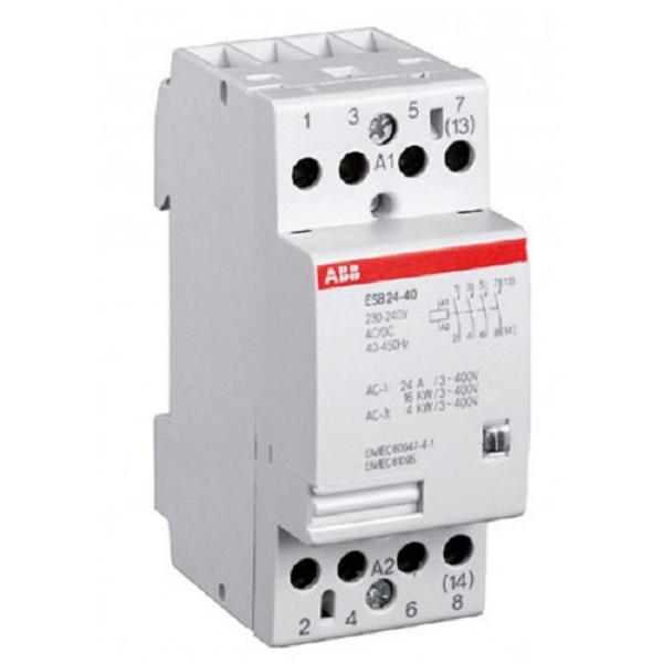 Модульный контактор АВВ ESB 25-40-230 AC/DC