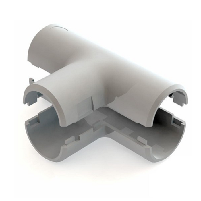 Тройник для труб разборный диаметр 25 мм