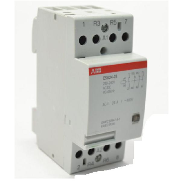 Модульный контактор АВВ ESB 25-22-230 AC/DC