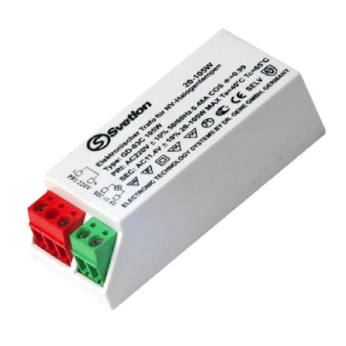 Электронный понижающий трансформатор Svetlon GD-03 105W