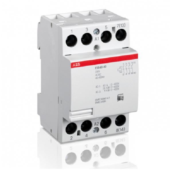 Модульный контактор АВВ ESB 40-40-230 AC/DC
