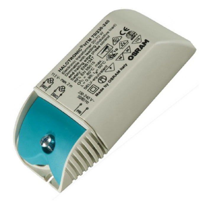 Электронный трансформатор для галогенных ламп OSRAM HTM 70/230-240